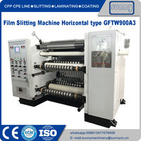 High-speed Slitting Machine Horizontal Type Model GFTW900A