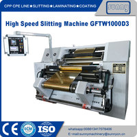 High-speed Slitting Machine Horizontal Type Model GFTW1000C